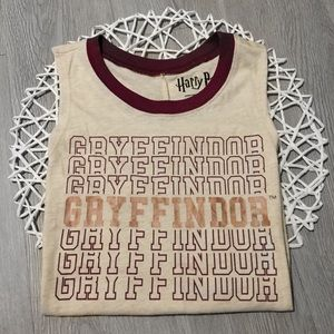 NWOT Harry Potter Gryffindor Tank Top Graphic Tee